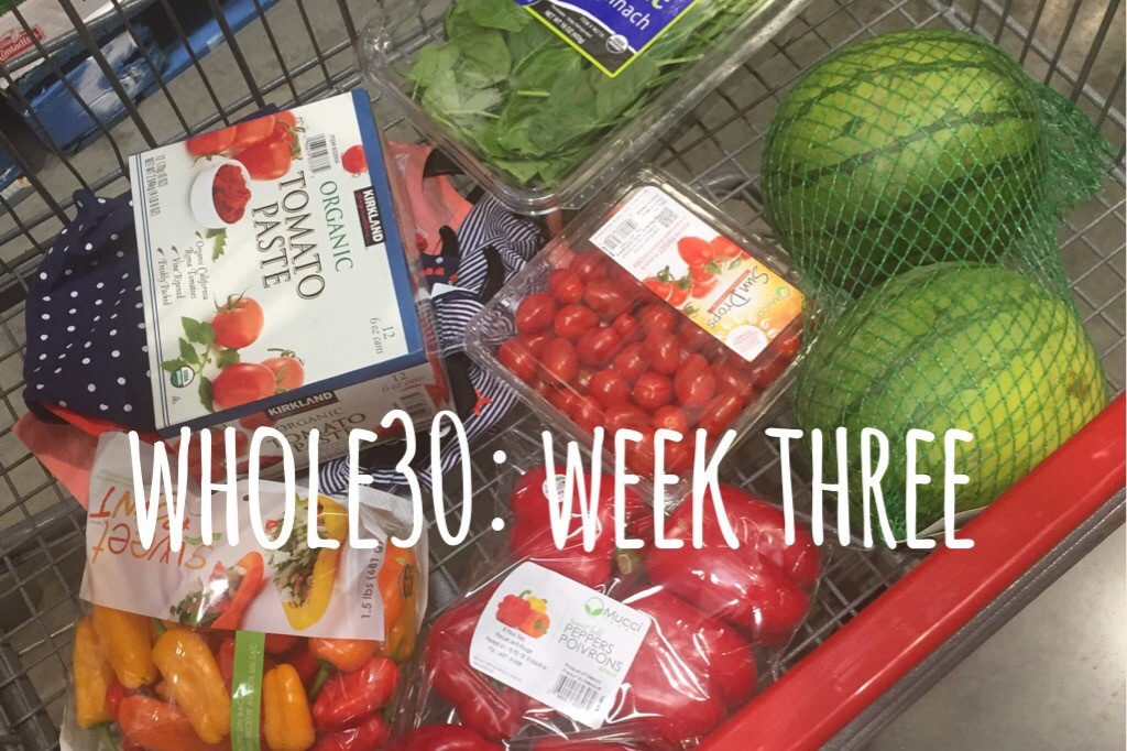 Whole30, week three